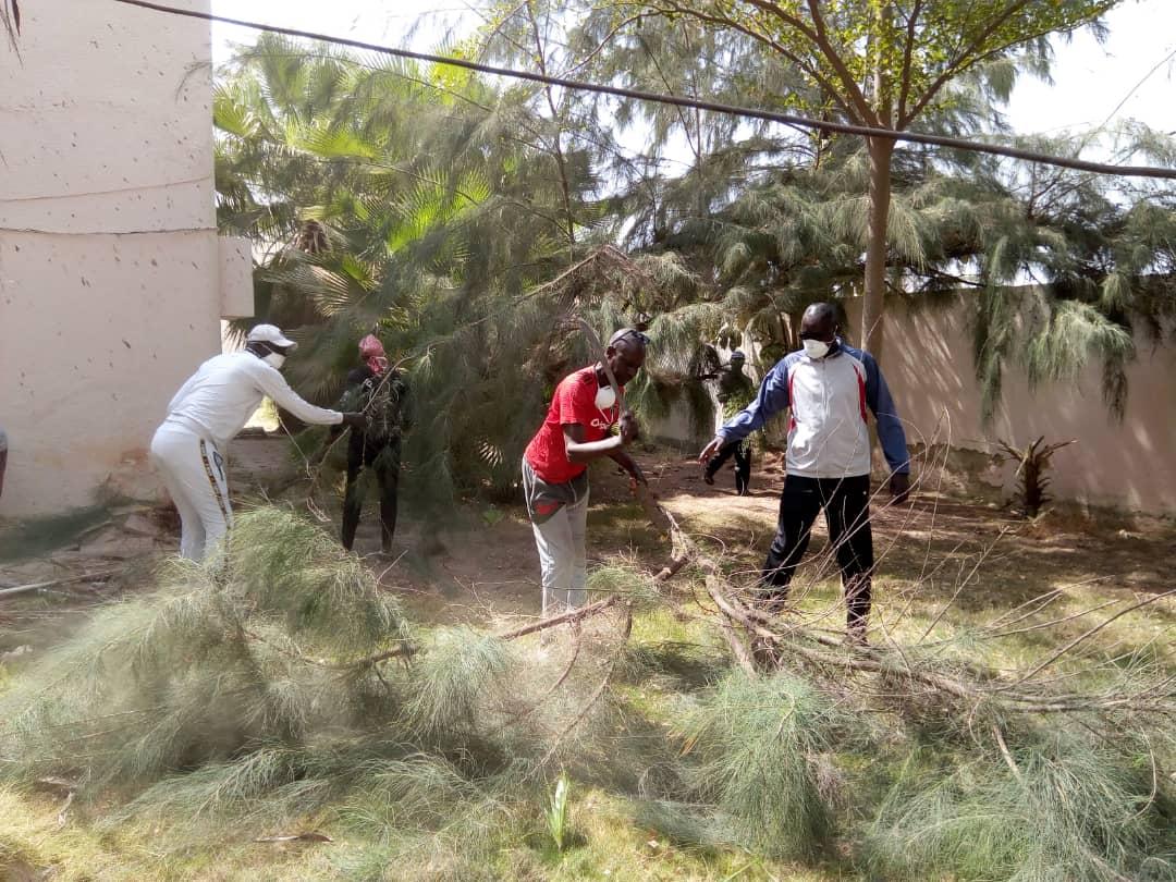 Cleaning Day : Le Conseil Départemental de Kaolack et Spécial Olympics Sénégal dans l'originalité