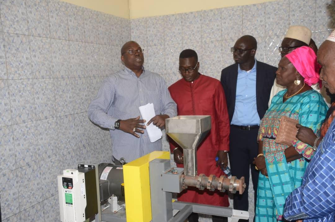 Développement économique local : Le Président CD de Kaolack a procédé à l'inauguration de l'Entreprise «Keur Yaye Ami Ndao» …