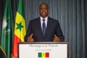 Intégralité du discours à la nation du chef de l'état pour la fête de l'ndépendance du 4 avril 2020 au  Sénégal