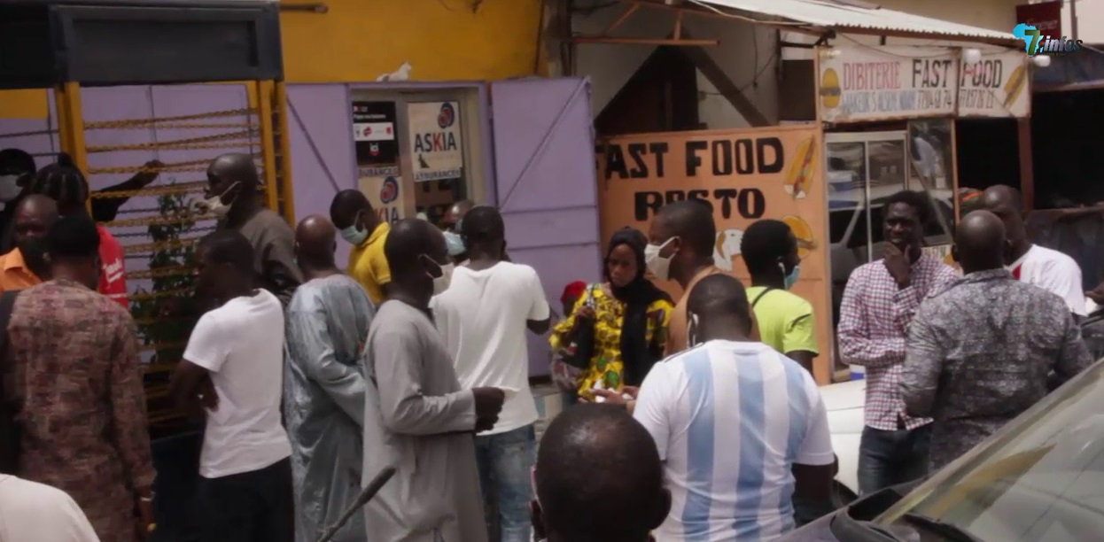 COVID'19 : Hausse du prix des billets d'avion, les émigrés confinés à Touba exposent leur colère