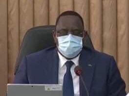 COVID'19 : Le chef de l'état Macky Sall en contact avec une personne testée positive au coronavirus est placé en quarantaine pour 2 semaines