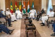 Crise Malienne : 5 chefs d'état de la CEDEAO à Bamako pour tenter d'arrondir les angles et le