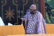 Urgent : Hon. Moustapha Cissé démissionne de son poste de premier vice-président de l'assemblée