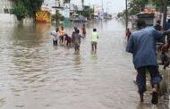Fortes pluies à Dakar-L'Unité 6 des P.A entièrement colonisée par les eaux…