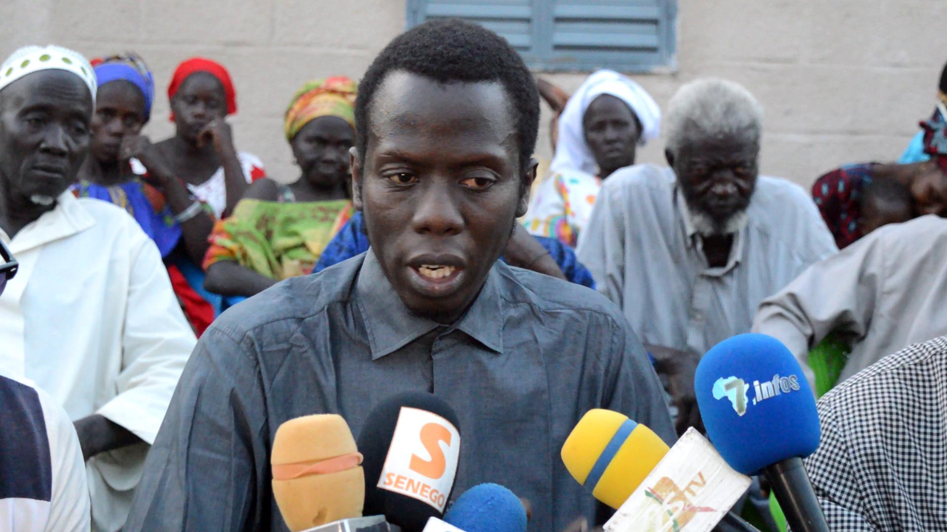 Foncier /  Le collectif pour la défense des terres de Bambey face à la presse pour un bilan à mi-parcours de son combat